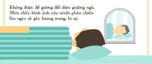 infographic: phong thuy phong ngu co ban can nam vung - 4