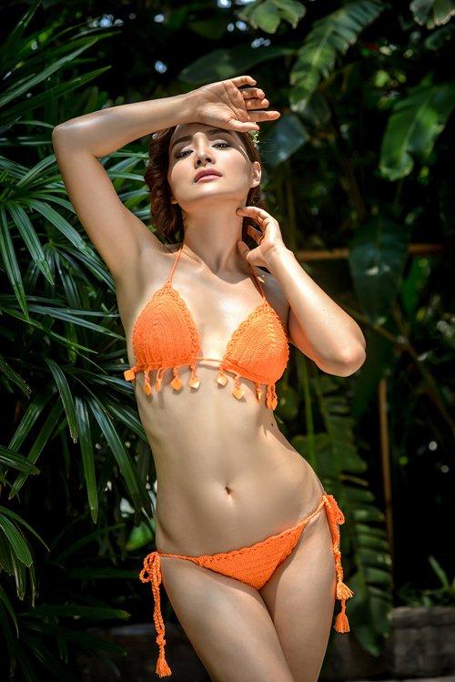lan phuong khoe duong cong voi bikini o tuoi 32 - 6