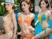 Làng sao - Lan Phương khoe đường cong với bikini ở tuổi 32