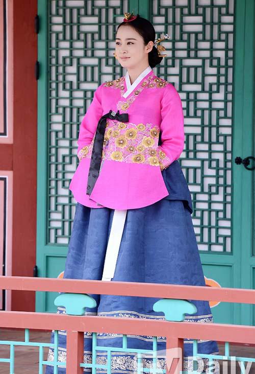 cham diem sao han mac ao hanbok truyen thong - 6
