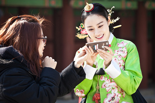 cham diem sao han mac ao hanbok truyen thong - 9