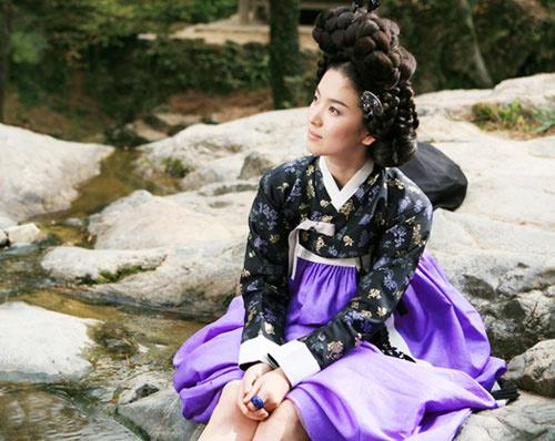 cham diem sao han mac ao hanbok truyen thong - 12