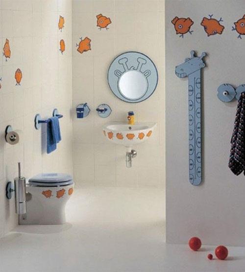 Mẹ khéo tay làm mới không gian phòng tắm-8