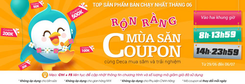 top 8 san pham cho me va be hot nhat thang 6 - 12