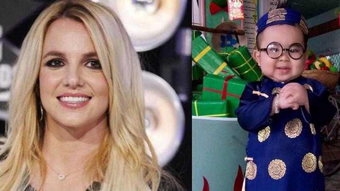 """Britney Spears """"thích"""" clip Ku Tin nhảy """"Cồng chiêng""""-2"""