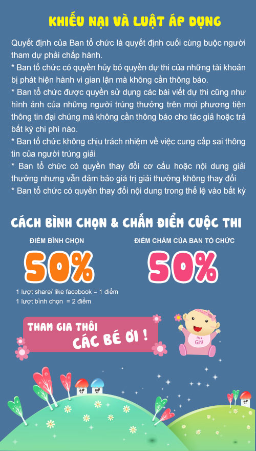 """the le cuoc thi anh """"nu cuoi be yeu"""" - 3"""