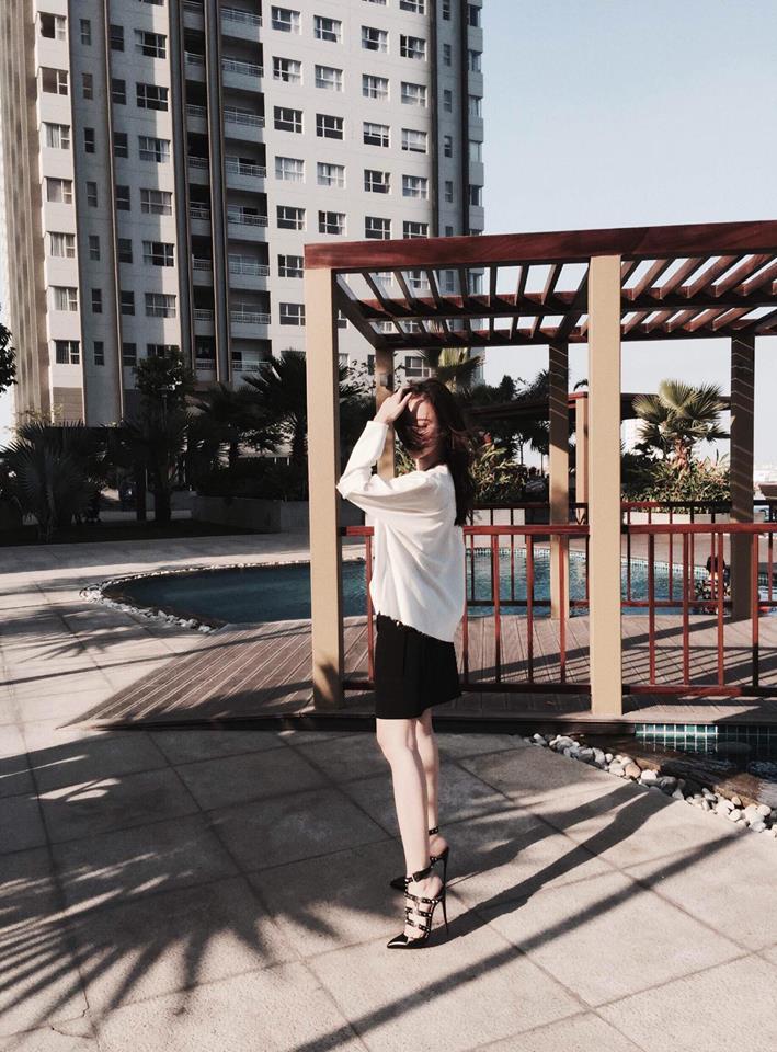 Angela Phương Trinh vẫn sành điệu với túi xách 700 ngàn đồng-3