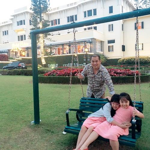 Thúy Hạnh ngọt ngào bên chồng và 2 'công chúa' ở Đà Lạt-9