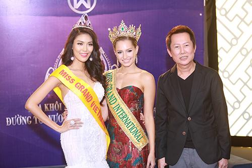 Lan Khuê được chủ tịch Miss Grand International mời thi hoa hậu-8