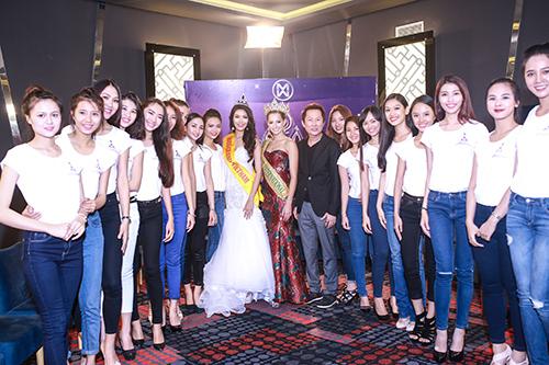 Lan Khuê được chủ tịch Miss Grand International mời thi hoa hậu-9
