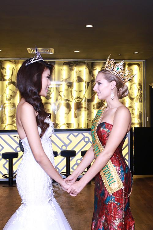 Lan Khuê được chủ tịch Miss Grand International mời thi hoa hậu-2