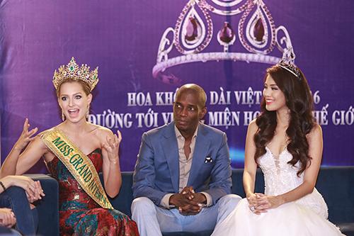 Lan Khuê được chủ tịch Miss Grand International mời thi hoa hậu-5