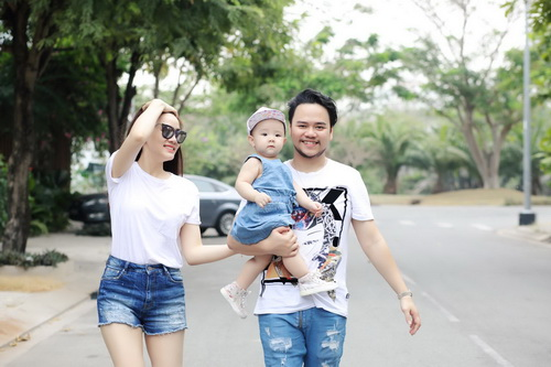 Con gái Trang Nhung cực hóm hỉnh đón sinh nhật đầu tiên-13
