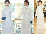 Thời trang Sao - Á hậu Diễm Trang khéo che bụng bầu hot nhất tuần