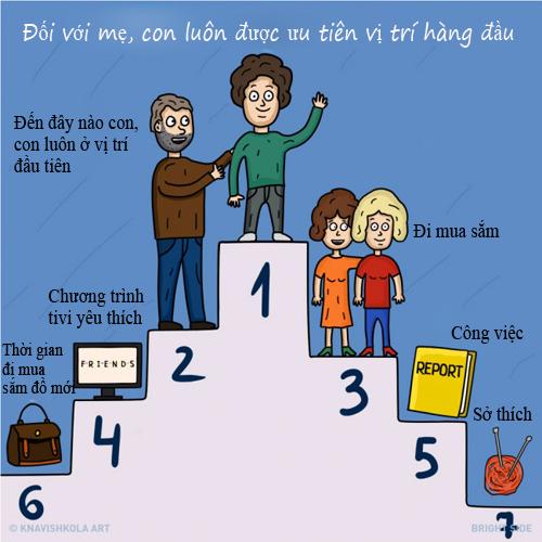 """9 dieu me khong bao gio """"tho lo"""" voi con - 5"""