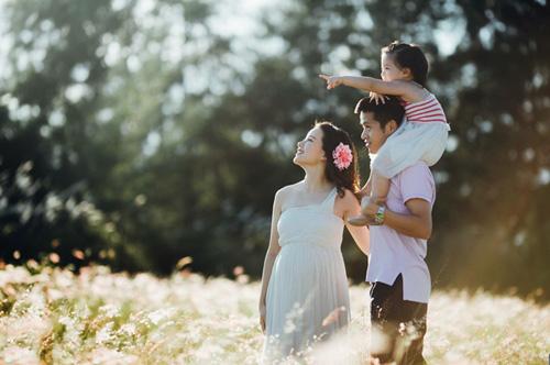 """mc trang moon:  de bau bi van xinh nhu """"hot girl"""" - 1"""