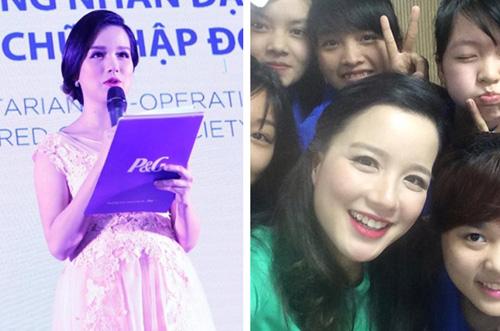 """mc trang moon:  de bau bi van xinh nhu """"hot girl"""" - 5"""