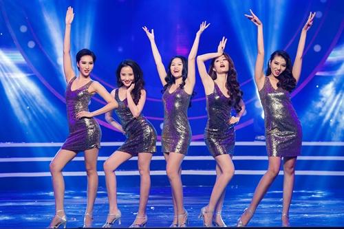 """pham huong xinh tuoi """"do sac"""" diem my 9x tai su kien - 8"""