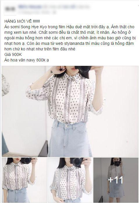 """shop thoi trang """"hot bac"""" nho vay ao song hye kyo - 8"""