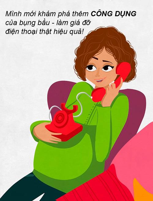 """nhung tinh huong """"cuoi ra nuoc mat"""" chi me bau moi hieu - 8"""