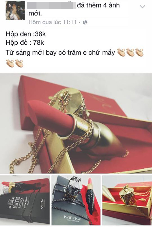 can than hong moi vi son louboutin gia gia beo bot - 2
