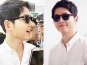 """Hậu trường - Song Joong Ki """"siêu điển trai"""" với sơ mi trắng"""