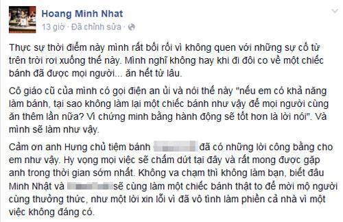 "minh nhat masterchef xin loi da ""nhan vo"" chiec banh tang thay co - 3"