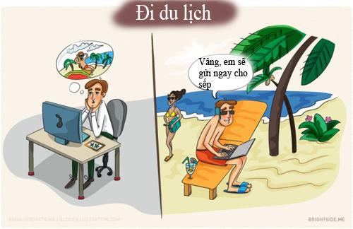 10 hinh anh 'chuan khong can chinh' ve dan van phong - 5