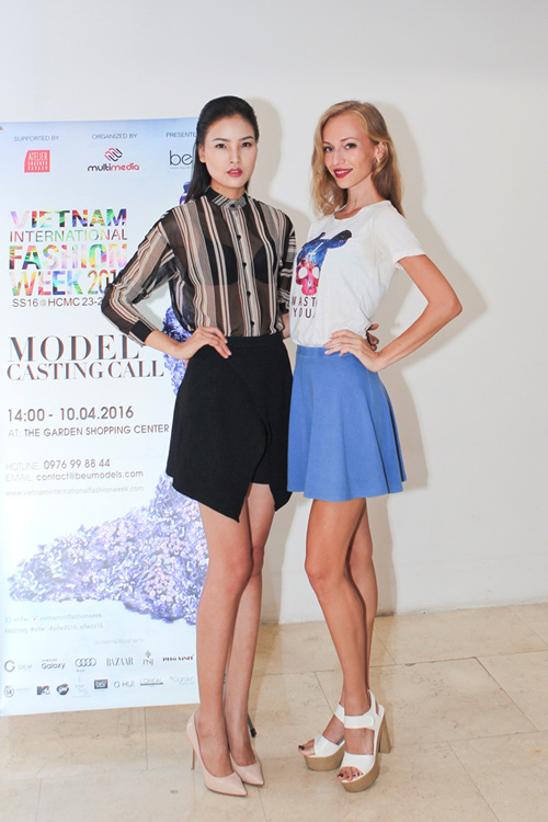 """chan dai"" ha noi ru nhau di casting vietnam international fashion week - 5"