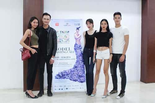 """chan dai"" ha noi ru nhau di casting vietnam international fashion week - 6"