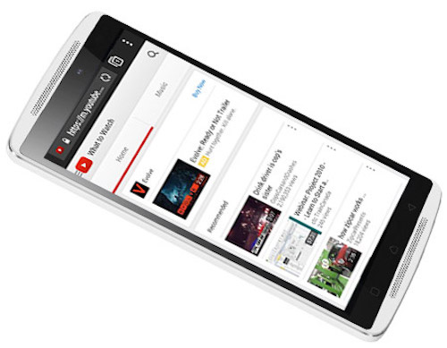 lenovo a7010: smartphone chuyen xem phim voi loa kep - 2