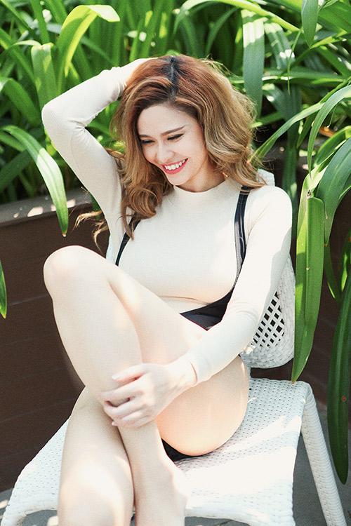 "truong quynh anh cuc sexy sau tin don tim ""lang nhang"" - 4"