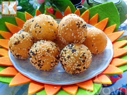 banh cam nhan sau rieng thom nuc mui - 10