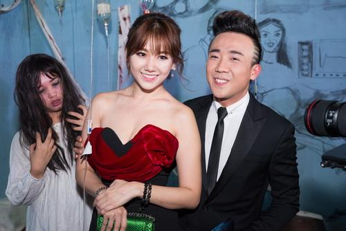 "tran thanh - hari won lien tuc tinh tu ""gay bao"" - 3"