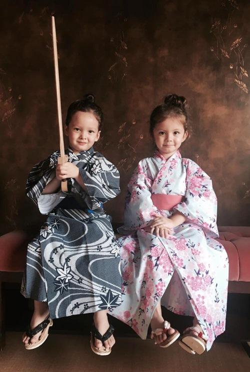 2 be tom - tep nha hong nhung de thuong khi mac kimono - 3