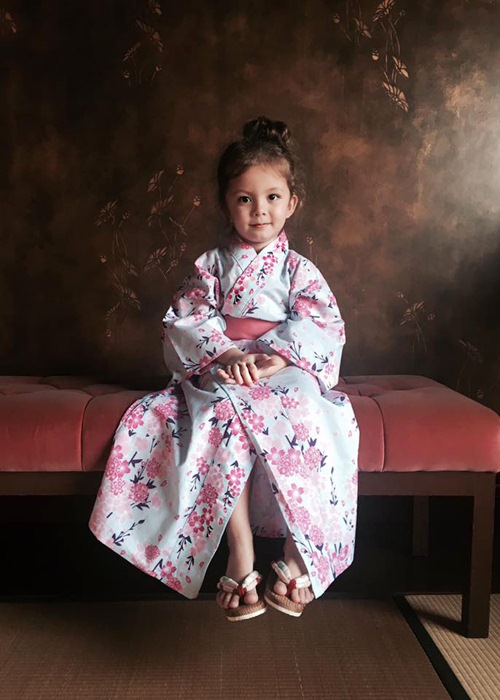 2 be tom - tep nha hong nhung de thuong khi mac kimono - 5