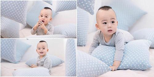 """con trai ngoc thach chu mieng """"sieu"""" dang yeu - 4"""