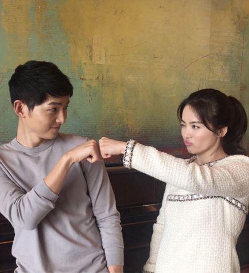 """dd """"hau due mat troi"""" noi ve quan he cua joong ki-hye kyo - 1"""