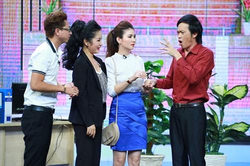 "hoai linh mang cau ""cap dat ma an"" cua ngoc trinh len san khau - 6"