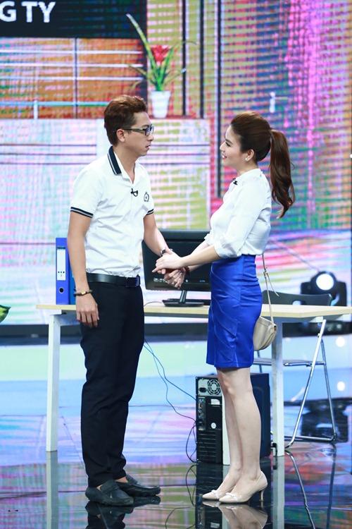 "hoai linh mang cau ""cap dat ma an"" cua ngoc trinh len san khau - 5"