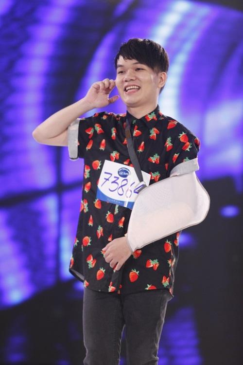 """man thi hai huoc tai vietnam idol cua chang trai vua """"gay sot"""" x-factor - 3"""