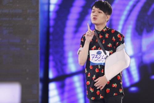 """man thi hai huoc tai vietnam idol cua chang trai vua """"gay sot"""" x-factor - 4"""