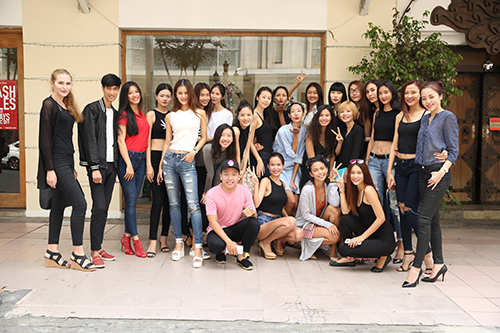 nguoi mau no nuc chay so casting vietnam international fashion week - 11