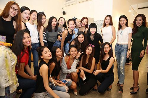 nguoi mau no nuc chay so casting vietnam international fashion week - 10