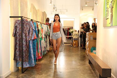 nguoi mau no nuc chay so casting vietnam international fashion week - 3