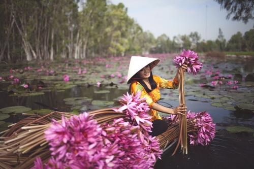 """phuong thanh mac ao dai diu dang nhu """"gai que"""" - 8"""
