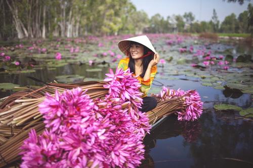 """phuong thanh mac ao dai diu dang nhu """"gai que"""" - 9"""