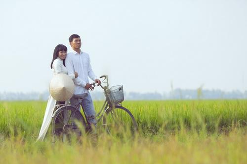 """phuong thanh mac ao dai diu dang nhu """"gai que"""" - 4"""