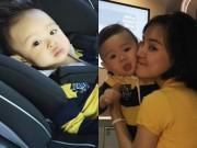 Làng sao - Con trai Vy Oanh háo hức khi lần đầu về Việt Nam