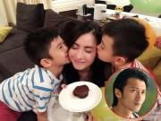 """Làng sao - Tạ Đình Phong bị các con """"từ mặt"""" vì mải vui với tình mới"""